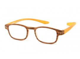 Leesbril Readloop Clan 2609-05 hout/oranje