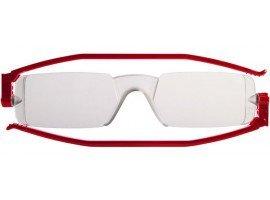 leesbril nannini compact opvouwbaar rood | mijnleesbril.nl