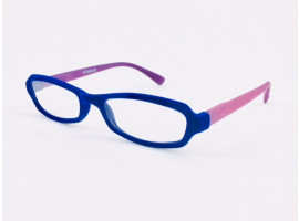 Leesbril Polaroid R970 fluweel blauw/lila