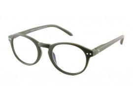 Computerbril Blueberry M Kaki-Geen