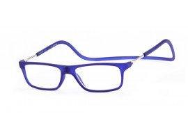 Magneet leesbril Nordic Glasögon Malmö blauw | Mijnleesbril.nl