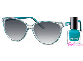 Leeszonnebril Anny eyewear addicted to shoes groen + gratis nagellak 963003-705