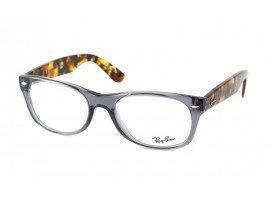 leesbril-ray-ban-ORX5184-5629-grijs-havanna-schuin |mijnleesbril.nl