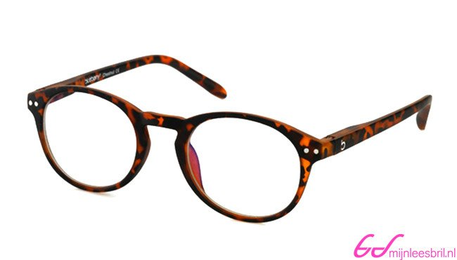 Computerbril Blueberry M havanna | mijnleesbril.nl Computerbril