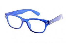 Leesbril INY Woody G38800 blauw/transparant | mijnleesbril.nl