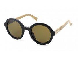 leesbril-maxmara-tailored-zwart-beige-leer-schuin
