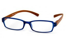 Leesbril INY Hangover G45900 bruin/blauw   Mijnleesbril.nl