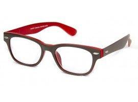 Leesbril INY Woody Double G42100 grijs/rood | Mijnleesbril.nl