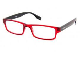 Leesbril Polaroid S3412 rood/zwart | Mijnleesbril.nl