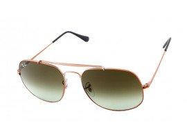 leeszonnebril-ray-ban-ORB3561-9002A6-brons-koper-schuin |mijnleesbril.nl