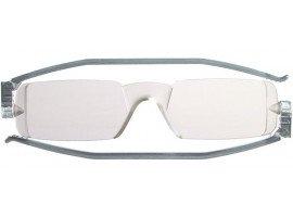 leesbril nannini compact opvouwbaar grijs | mijnleesbril.nl