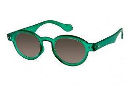 Leeszonnebril INY Doktor Sun G12100 groen/transparant | Mijnleesbril.nl