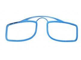 Leesbril OOPS blauw/transparant | mijnleesbril.nl