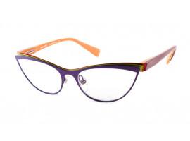 Leesbril Alain Mikli A02003 paars/groen/oranje