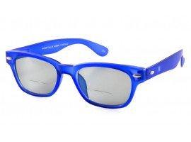 Leeszonnebril INY Woody Sun Bifocaal G13800 blauw | Mijnleesbril.nl