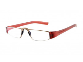 Leesbril Porsche Design Limited Edition P'8801r titanium rood/koper
