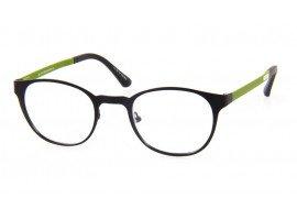 Leesbril Mathlete 904 14 mat zwart/groen   Mijnleesbril.nl