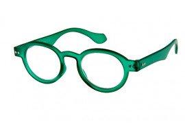 Leesbril INY Doktor G12100 groen/transparant | mijnleesbril.nl