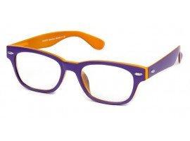 Leesbril INY Woody Double G42400 paars/oranje | Mijnleesbril.nl