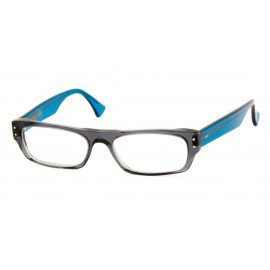 Leesbril Caroline Abram Elie 10 blauw/grijs