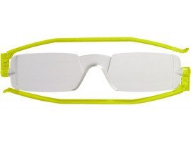 leesbril nannini compact opvouwbaar lime | mijnleesbril.nl