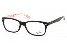 Leesbril Ray-Ban RB5228-5014-53 zwart/wit | MIjnleesbril.nl