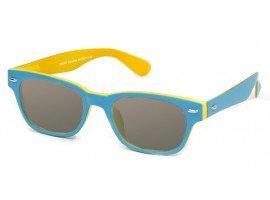 Leeszonnebril INY Woody Double G42200 blauw/geel | Mijnleesbril.nl