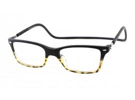 magneet-leesbril-nordic-glasogon-black-demi-havanna-zwart-zvoorkant |mijnleesbril.nl