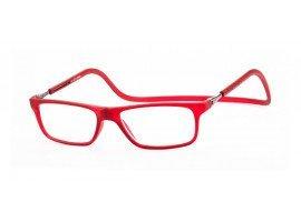 Magneet leesbril Nordic Glasögon Lund rood | Mijnleesbril.nl