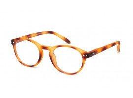 leesbril-blauw-licht-filter-blueberry-toffee-tortoise-b#2-C10-M-blond-schuin |mijnleesbril.nl