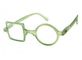 Leesbril Readloop Patchwork 2607-05 groen schuin |mijnleesbril.nl