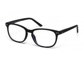 Leesbril-blueberry-zwart-blauw-filter-xl-schuin | mijnleesbril.nl