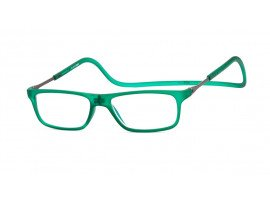 Magneet leesbril Nordic Glasögon Ystad groen | Mijnleesbril.nl