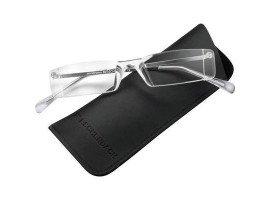 Leesbril MiniFrame 291015 transparant/zilver