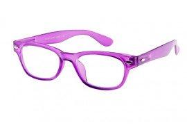 Leesbril INY Woody G38600 paars/transparant | mijnleesbril.nl