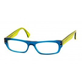Leesbril Caroline Abram Elie 40 groen/blauw