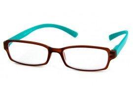 Leesbril INY Hangover G45600 bruin/turkoois   Mijnleesbril.nl