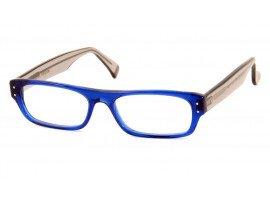 Leesbril Caroline Abram Elie 22 grijs/blauw | mijnleesbril.nl