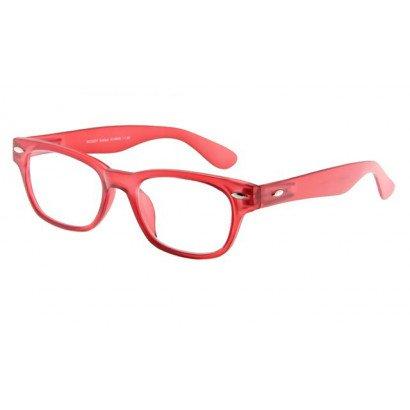 Leesbril INY Woody G14600 rood/transparant | mijnleesbril.nl