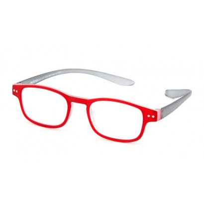 Leesbril Readloop Clan 2609-04 rood/zwart schuin