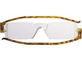 leesbril nannini compact opvouwbaar havanna| mijnleesbril.nl