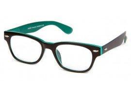 Leesbril INY Woody Double G42300 bruin/groen | Mijnleesbril.nl