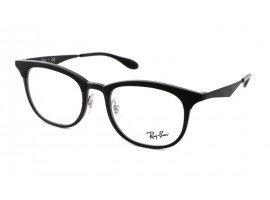 leesbril-ray-ban-ORX7112-5682-zwart-schuin |mijnleesbril.nl